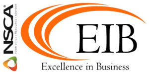 NSCA Excellence in Business Logo