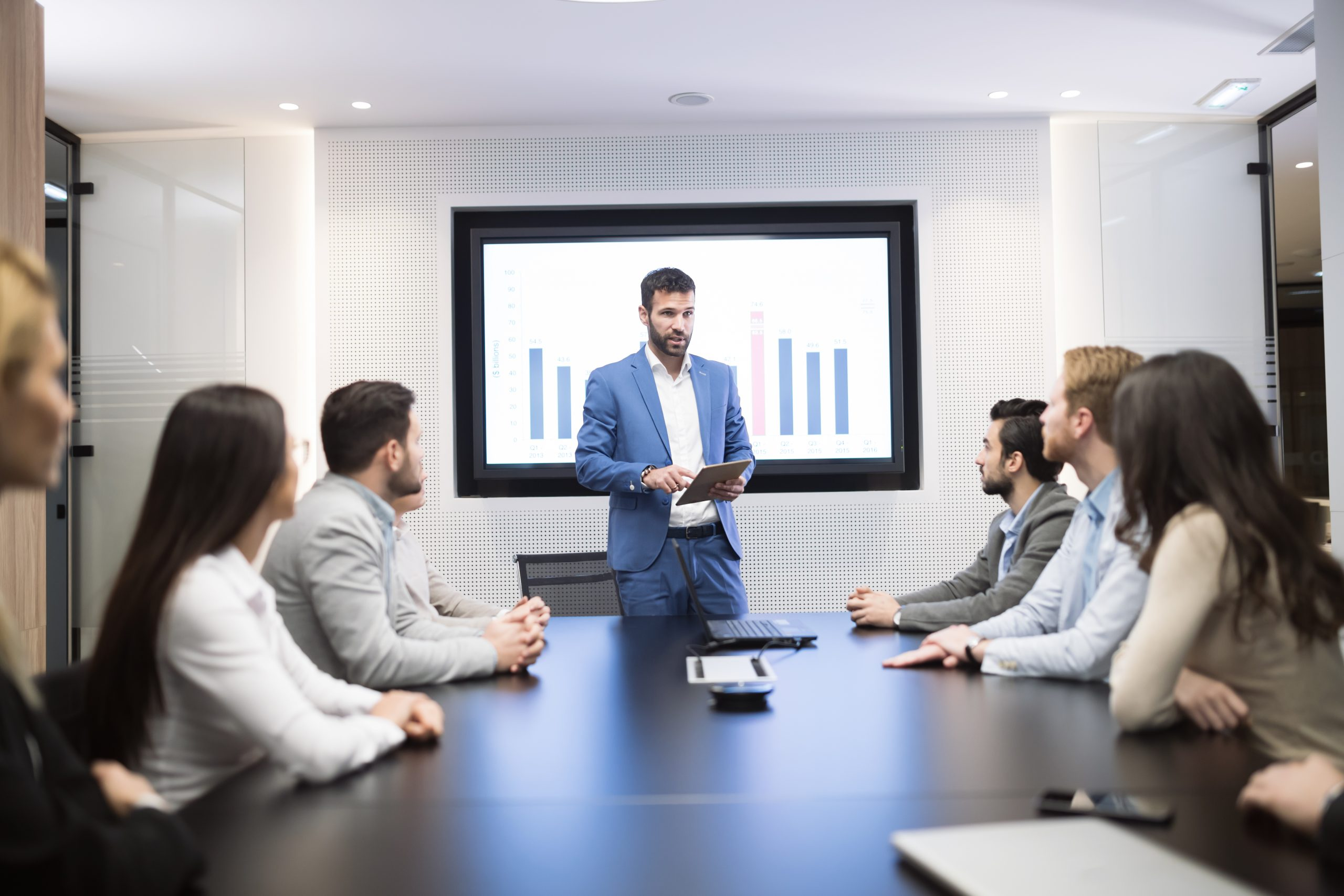 Meeting rooms need collaboration technology capabilities to enable team productivity.