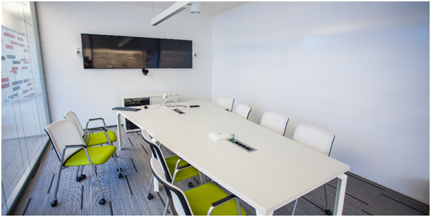 Permanent or variable acoustic treatments can improve your meeting room audio