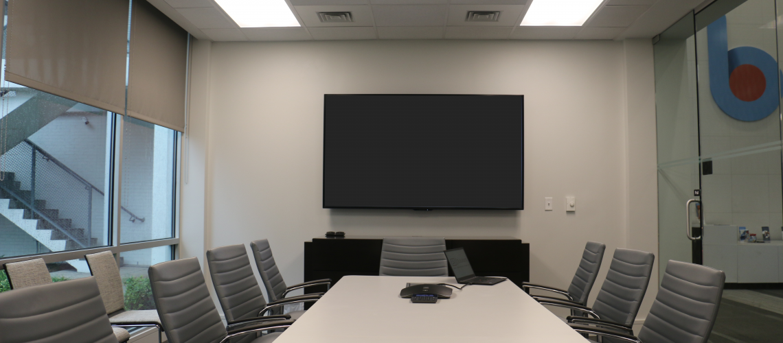 Business First Bank's conference room
